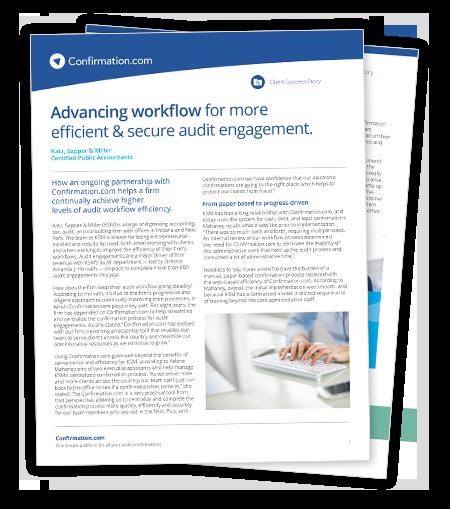 Télécharger l'étude de cas sur les façons d'améliorer l'efficacité de vos procédures d'audit